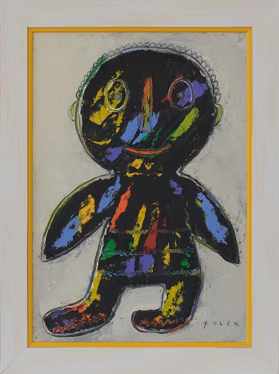 Pastriat Angel- kartina ot Rosen Rashev-Roshpaka-2020
