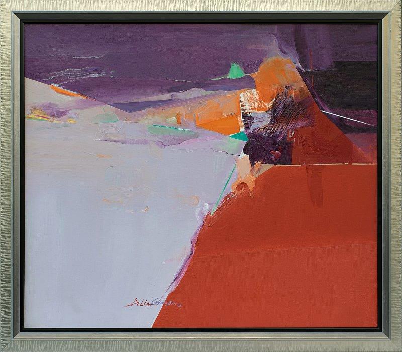 Delya Chausheva- Rutthy Paths-60x70-2005