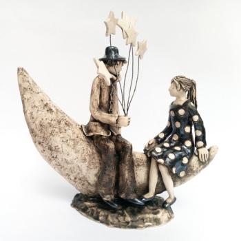 Izabell Nemechek- Vsichkite sa za teb-keramika-27x27cm