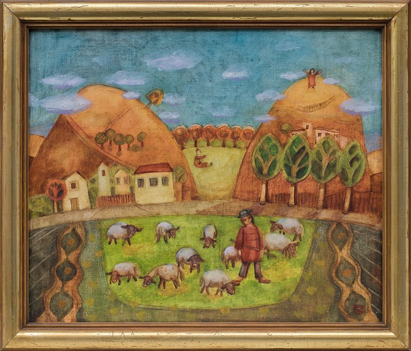 Peter DIMOV- Pastir-46x55cm