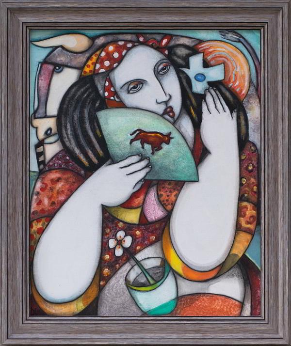 Alain Day-Zhenata-na-toreadora-50x40cm