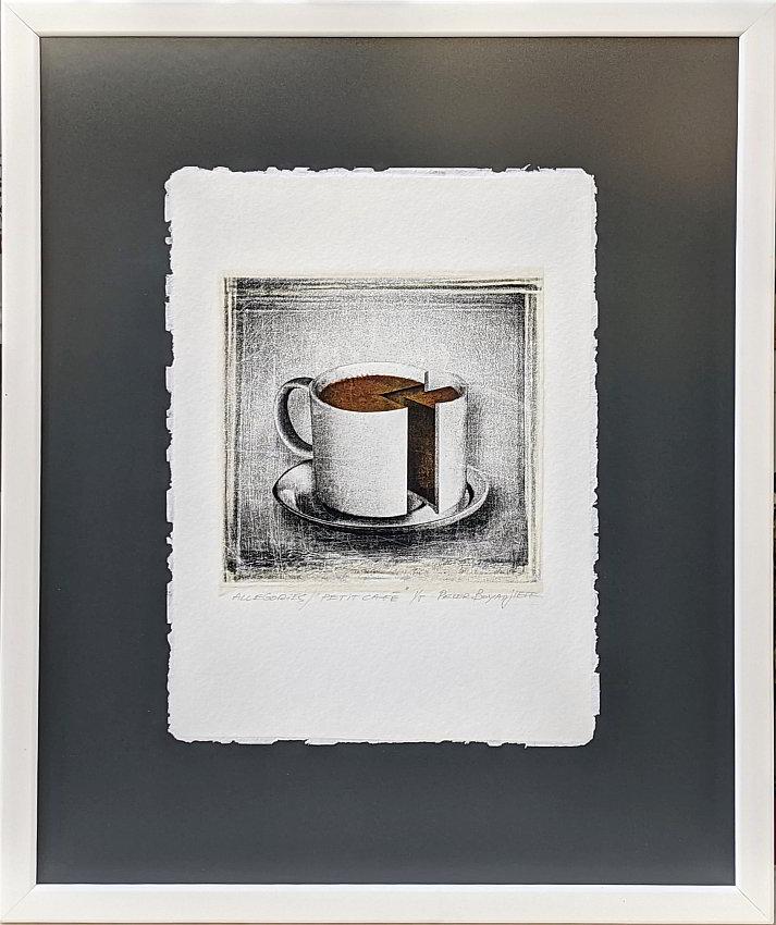 Petit cafe- grafika-ot-Peter-Boyadjieff-38x32cm