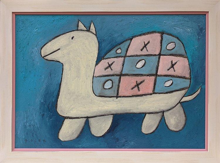 Rosen Rashev-Roshpaka-Morski-shah-50x70-59x79