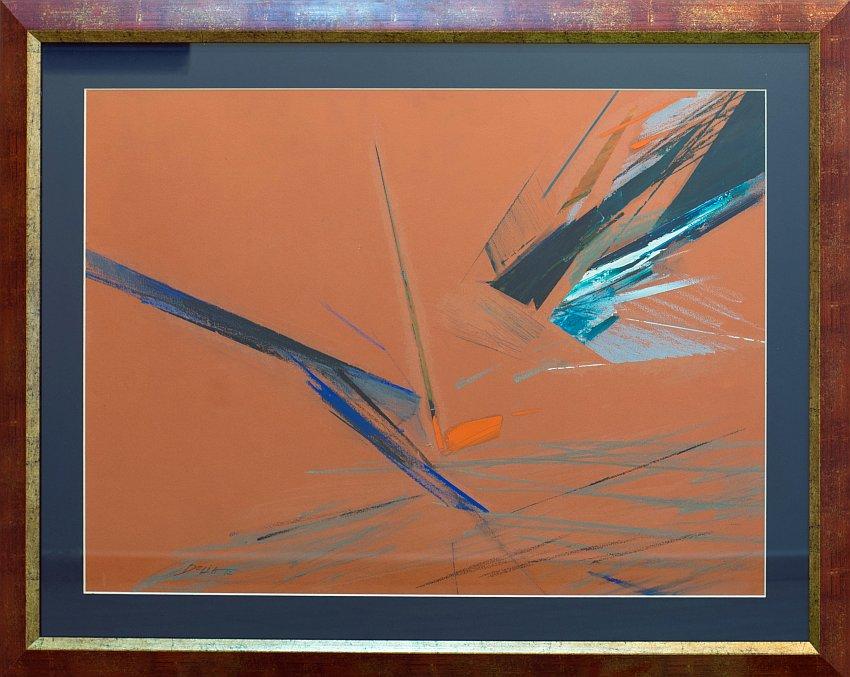 Delya Chausheva-abstraktna risunka-68x87