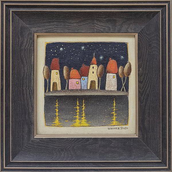 Vladimir Shunev- Noshten motiv-4-15x15cm