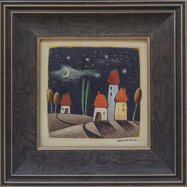 Vladimir Shunev- Noshten motiv-5-15x15cm
