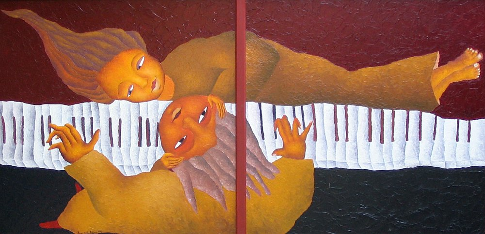 Bogomil Arsov - Lyuboven duet-70x140cm
