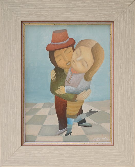 Bogomil Arsov- Tango 2 -24x18cm