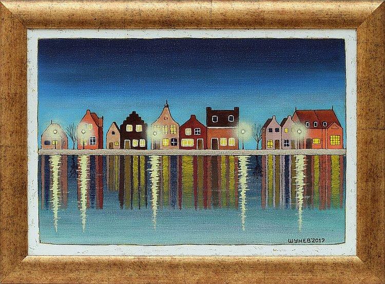 SHUNEV - Amsterdam Evening-38x55