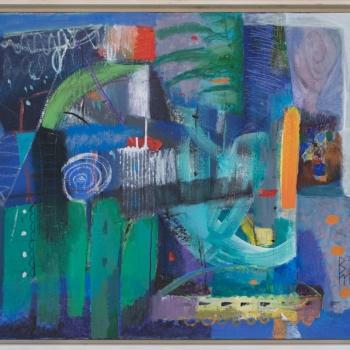 Valentin Topalov- Vecheren uyut- 70x80cm