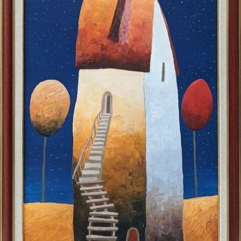 Bogomil Arsov- Noshtni kashti- 70x50cm
