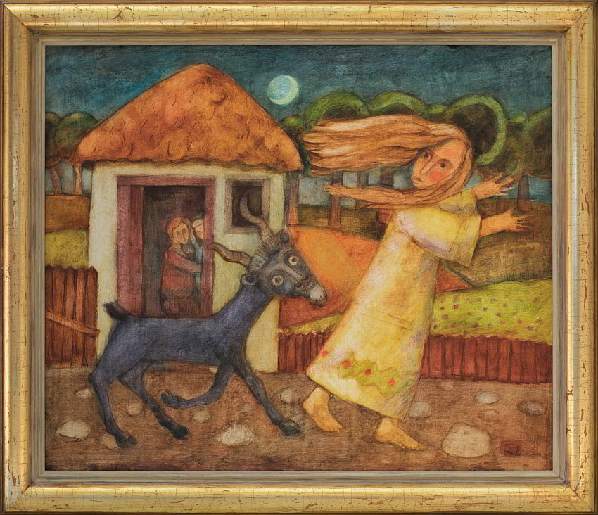 Peter DIMOV- Noshtni zakachki-42x50cm