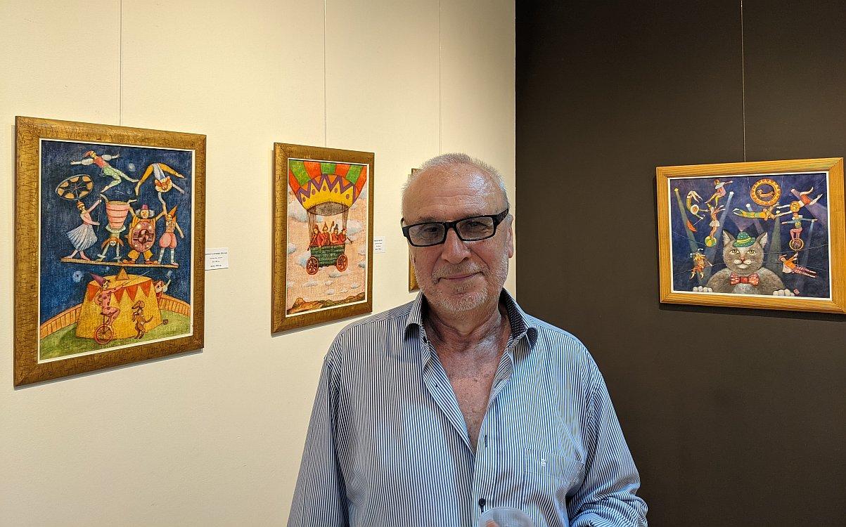 Peter DIMOV- snimka v Galeria Paris 2021