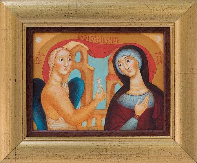 Julia Stankova-the Annunciation- 15x20cm_proc (1)