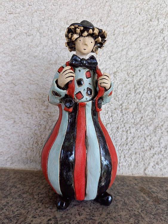 Nemechek-Klouncheto s tirantite - 17x7cm