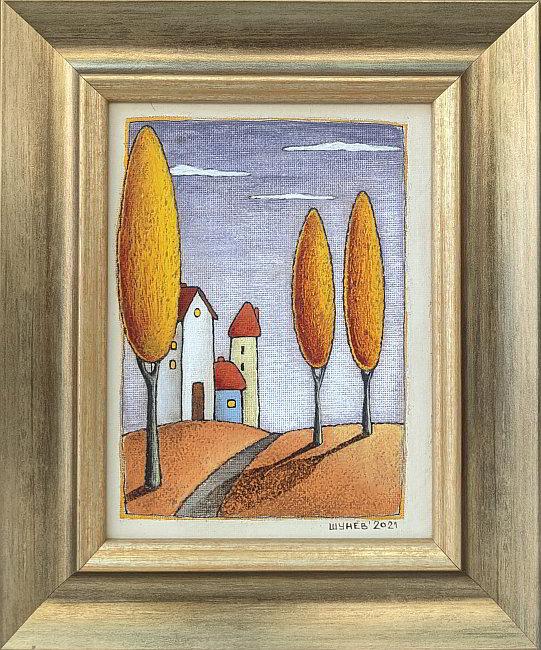 Vladimir Shunev-Zlatna esen-20x15cm